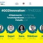 2 ditë dinamike me sipërmarrësit në konkursin e #GO2Innovation